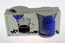 Pohár Capuccinos NELSON Milk Blue 2db 33,5cl 5723235B KIF