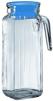 Kancsó üvegből tetővel 1000 Igloo T. Blue 13110035