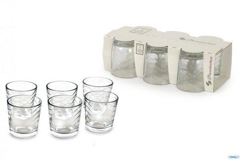 Pohár Whiskys TOROS 6db 255ml 1081046
