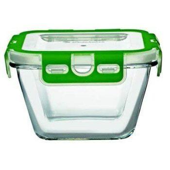 Ételtároló üvegből 0,86L 8,3x14,6cm műanyag fedővel 59604 / 1094315