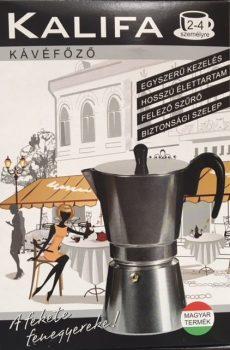Kávéfőző 2-4 személyes Kalifa