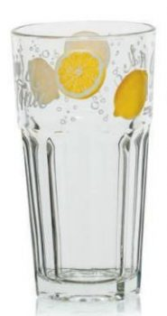 Pohár Üdítős GIN AND TONIC 3db 380ml M80400