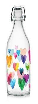 Csatos üveg LORY LOVE RAINBOW 1,0L M85920