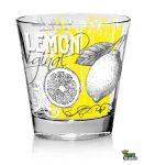Pohár Vizes Lemon 3db 220ml M87960