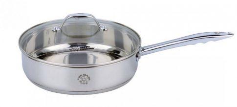 Serpenyő HC RM 2,9L 24x6,5cm mértékjeles, üveg fedővel Happy Cooking RS-1137