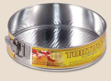Tortaforma kör alakú csatos 24cm texturált aljjal 162-35