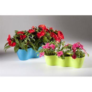 Virágcserép 3-as 33x12x9,0cm ORCHIDEA 550