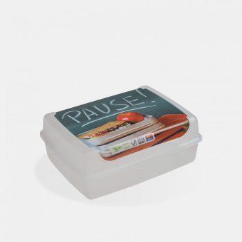 "Uzsonnás doboz 17x13x6,5cm 1,0L CARLA pause"" 1069700"""