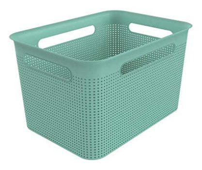 Tároló kosár R 16L 36x26,2x21,1cm BRISEN Zöld 1023905094