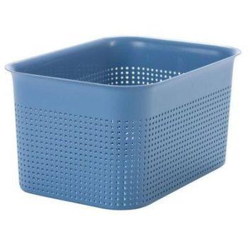 Tároló kosár R 16L 36x26,2x21,1cm BRISEN Kék 1023906161