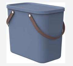 Szemetes szelektív 25L 40x23,5x34cm ALBULA Horizont Kék 1024906161