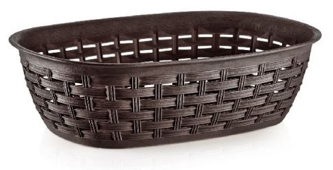 Kosár D kenyértartó rattan 3,0L 30,5x21,5x7,3cm 05206