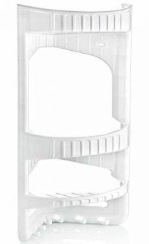 Zuhanypolc, fürdőszobai sarok 28x45x17,5cm 09166