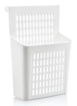 Tároló rekesz szekrény ajtóra akasztható 24,5x10x34,5cm 07401