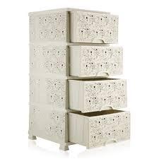 Komód Csipkés 4fiókos 37,5x45,5x90cm 295