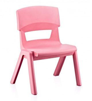 Gyerek szék 33x25x48cm RÓZSASZÍN CM-500
