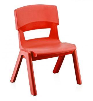 Gyerek szék 33x25x48cm PIROS CM-500