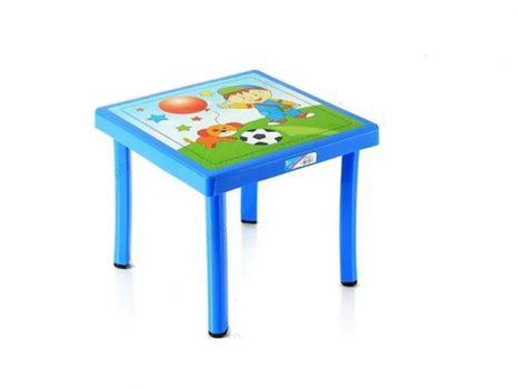 Gyerek asztal 50x50x40cm KÉK CM-305
