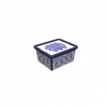 Tároló doboz Q 2,5L 16,5x19x9,5cm PORCELÁN S