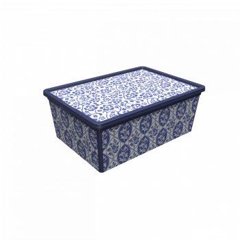 Tároló doboz Q 5,0L 19x33,5x11,5cm  PORCELÁN M