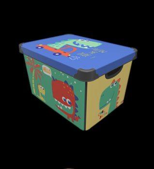 Tároló doboz Q  20L 24x30x41cm DUDE XL