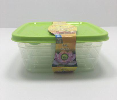 Ételtároló HN szett 3r. 0,5+1,0+1,6L ST-197