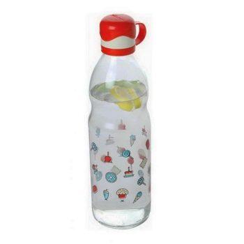 Kulacs üvegből 0,5L dekoros Luna M-281 AKCIÓ
