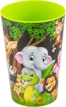 Pohár Műanyag 340ml Állatok 161910-001
