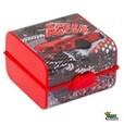 Uzsonnás doboz kétszintes evőeszközzel Cars piros 161273-002