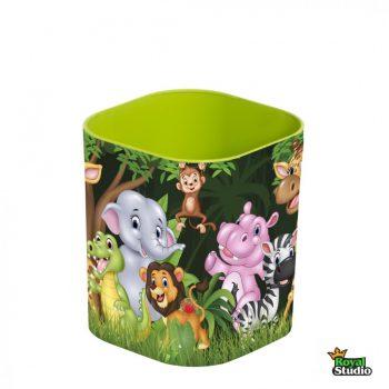 Ceruzatartó asztali Zöld állatos 161953-002