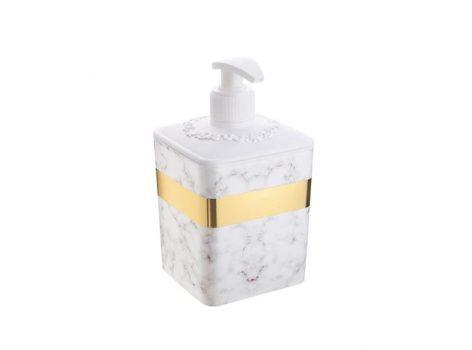 Folyékony szappanadagoló márványos 0,50L 428
