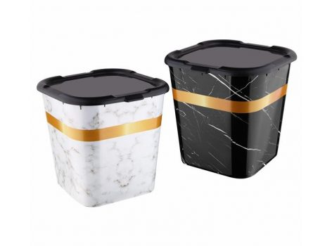 Tároló doboz A tetővel márványos 422