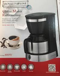 Kávéfőző 1L kávékiöntő TKME-800.325.2