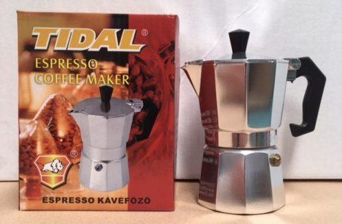 Kávéfőző 2 személyes alumínium TD T-KP-200-HF