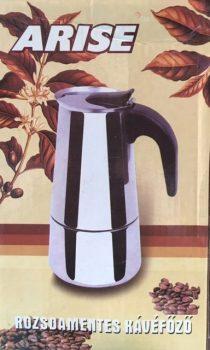 Kávéfőző 9 személyes Inox Arise