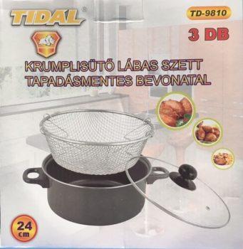 Lábas TD Krumplisütő szett 24cm TD-9810