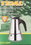 Kávéfőző 4 személyes Inox KPS-400F