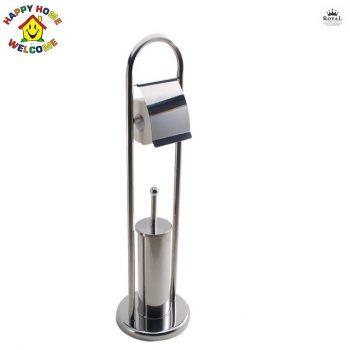 WC papír és WC Kefe-tartó Happy Home RM RS-1155