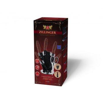 Kés készlet 7r. márvány bev. ZILLINGER ZL-862