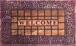 Lábtörlő Welcome 44x73,5cm VASTAG