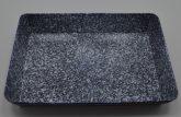 Zománcozott tepsi III. 22x32cm