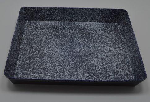 Zománcozott tepsi V. 31x39cm