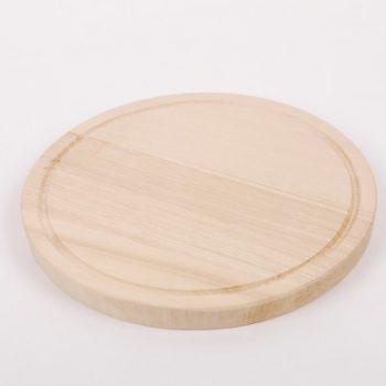 Fa Vágódeszka kerek Kicsi 20cm Happy Cooking RS-1076 (014)
