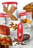Ételtárolók, ételhordók, fűszertartók - Storage boxes, Food storage containers, spice racks